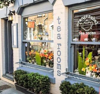 Orange Mabel Tea Rooms, Stratford upon Avon