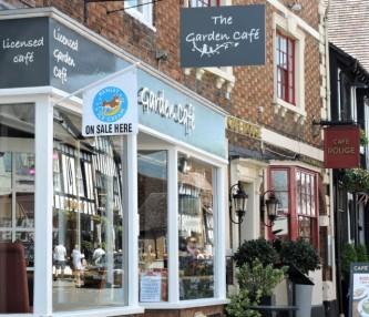 The Garden Cafe, Stratford upon Avon