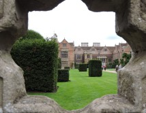 A View of the Big House at Charlecote Park